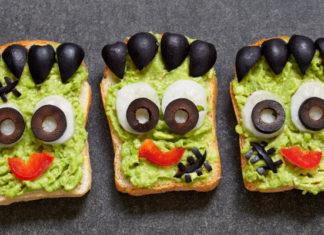 Frankenstein avocado toast