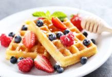 Oatmeal Pecan Waffles