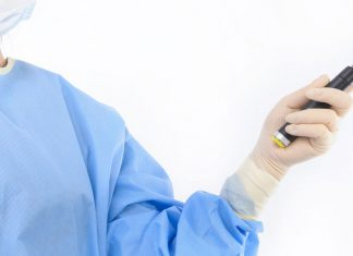 Doctor with STAR Device