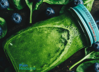 blueberry and spinach juice