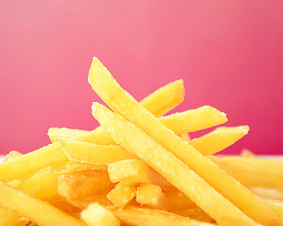 fries with trans fats