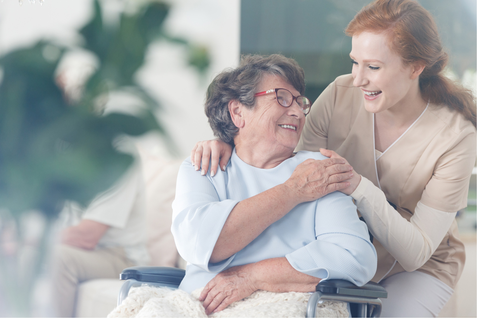 chronic illness and accessibility nurse helping patient
